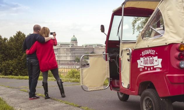 Külföldön is terjeszkedik a budapesti tuktuk
