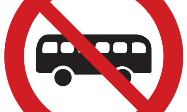 Május végéig nem jár busz a Margitszigeten