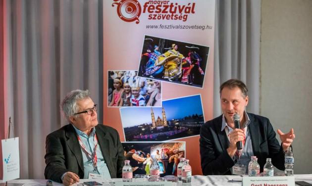 Fesztiválok évadzáró konferenciája