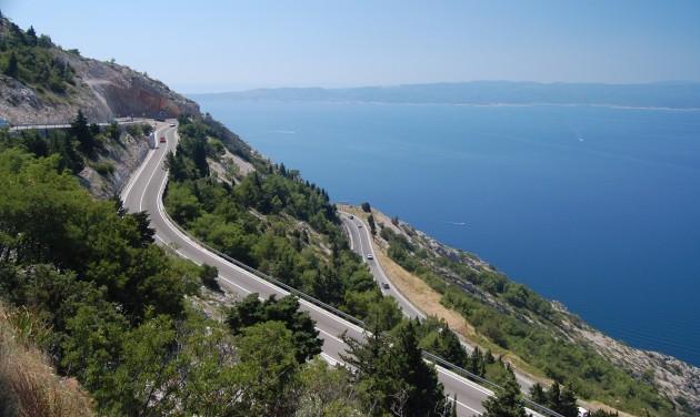 Tíz százalékkal drágulnak a horvát autópályadíjak