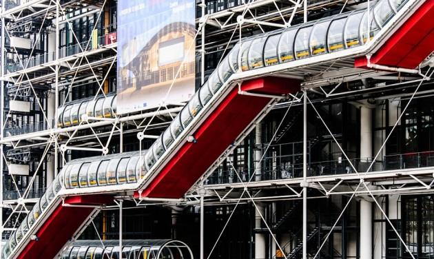 Vasarely-életműkiállítás a Pompidou Központban