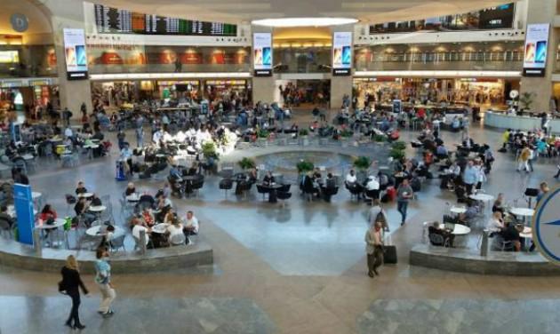 Bővítik az izraeli Ben-Gurion repülőteret