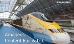 Amadeus Content Rail & LCC: Vonat- és fapados jegyfoglalás egyszerűen