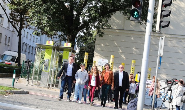 Ezt tudja Bécs okos közlekedési lámpája