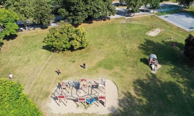 Elkezdődött a Gemenc Játszópark és Sportpálya építése