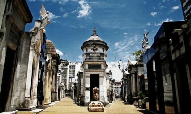 Turisztikai attrakció Eva Perón sírja