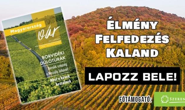 Lapozzon bele a Magyarország vár utazási magazin új számába!