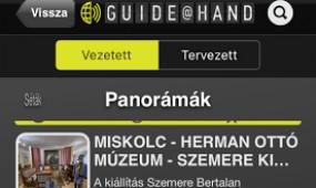 GUIDE@HAND MISKOLC – gömbpanorámás fejlesztés a szezonra