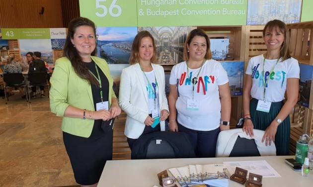 A hazai MICE ágazat képviselői is részt vettek a Conventa szakmai vásáron
