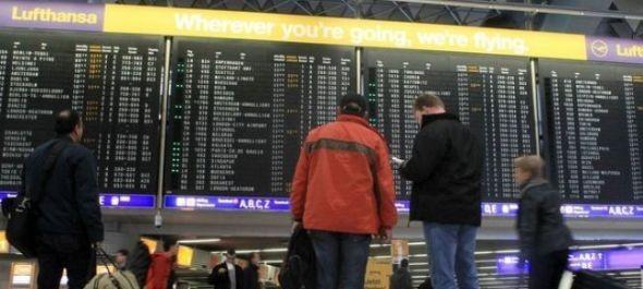 Több német reptéren is sztrájk nehezíti a közlekedést