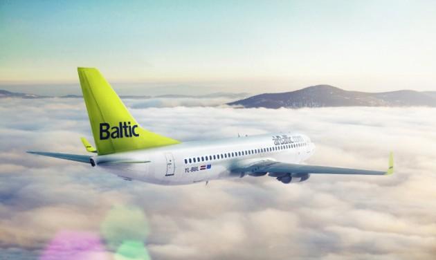 Az airBaltic-kal a lett nagykövetségre
