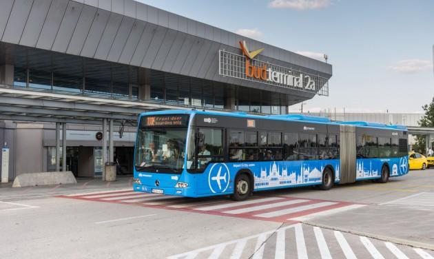 Júliustól már hajnalban is jár a 100E reptéri busz
