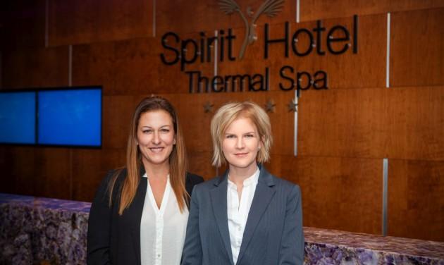 Új értékesítési és új marketingigazgató a Spirit Hotelben