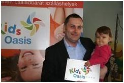 KidsOasis minősített családbarát szálláshely lett a Tisza Balneum Thermal Hotel