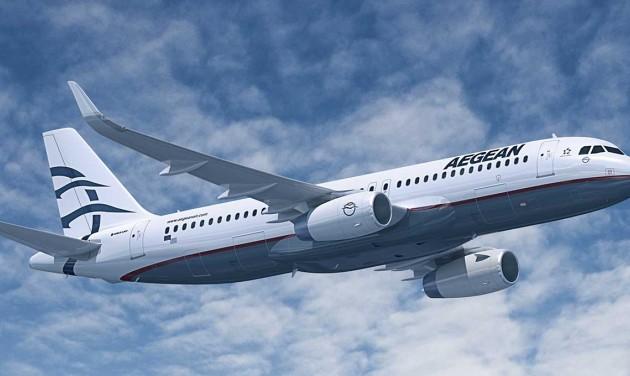 Javított eredményein az Aegean Airlines