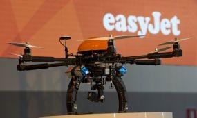 Drónokkal vizsgálja gépeit az easyJet