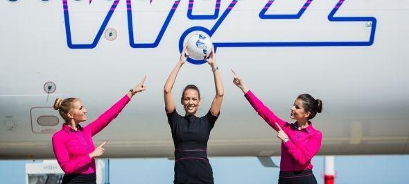 Újabb járatokat indít a foci eb-re a Wizz Air