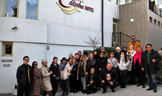 Kazah szakemberek ismerkedtek Miskolc kínálatával