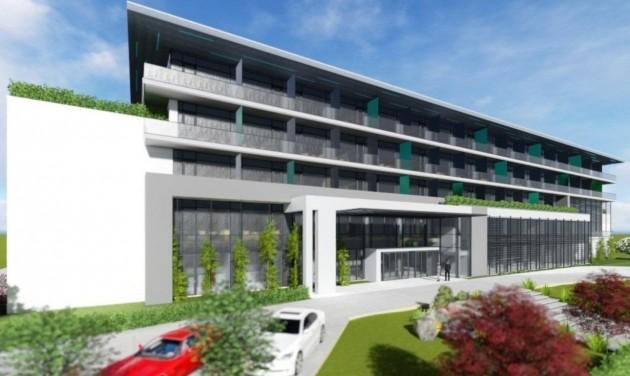 Tiszaújvárosban négycsillagos hotelt építenek hazai befektetők