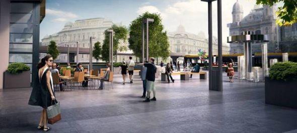Megkezdődött a budapesti Nyugati tér felújítása