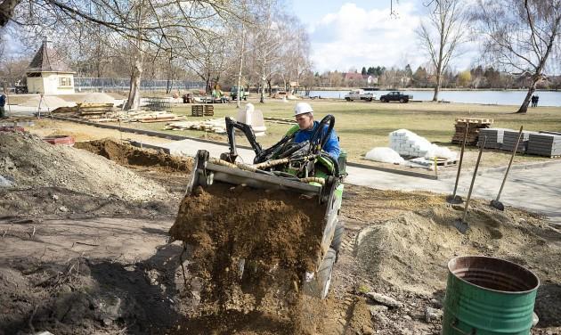 Elkezdődött a nyíregyházi Tófürdő rekonstrukciója