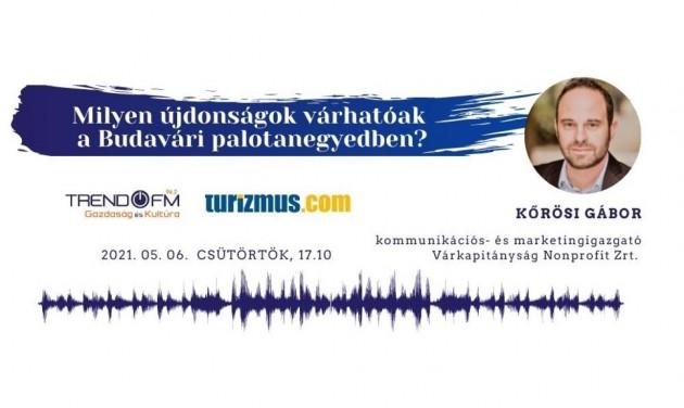 Újdonságok a Budavári Palotában – podcast