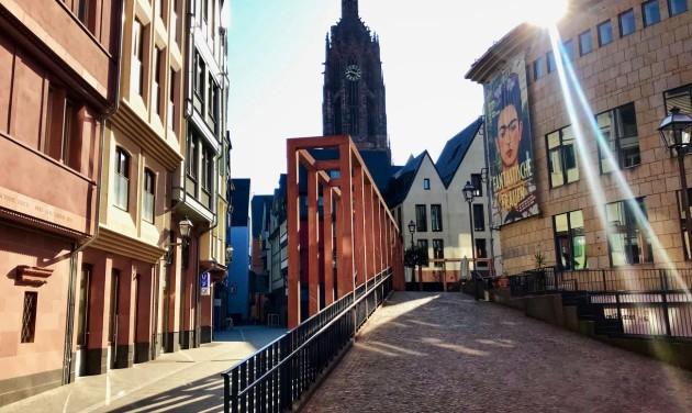 Frankfurti városlátogatás digitálisan (videó)