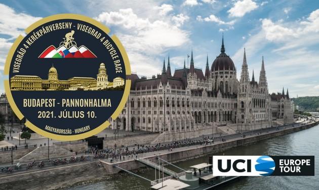 Július 10-én Budapesten rajtol el a Visegrád 4 Kerékpárverseny