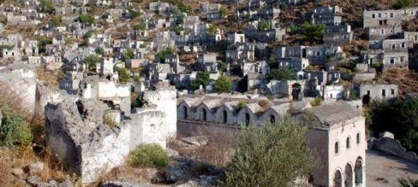 Görög szellemfalu vár árverésre Törökországban