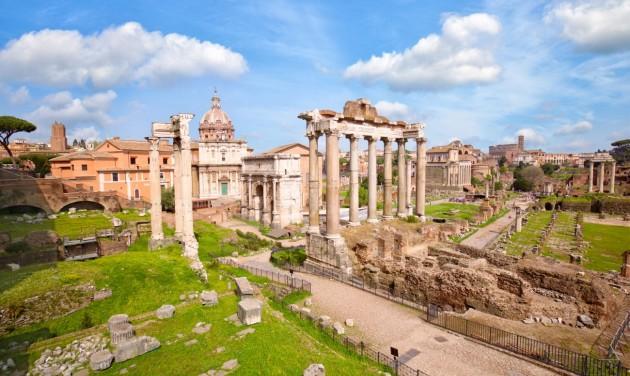 Róma főpolgármestere idén már nem számít külföldi turistára