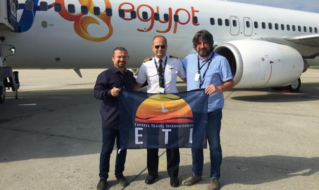 Charter season kicks off in Debrecen with ETI's flight to Hurghada