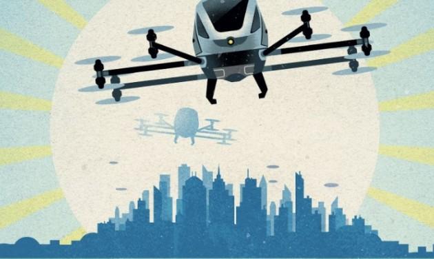 Forradalom a levegőben: jönnek a légitaxik?