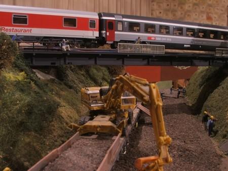 Egyedi méretarányú vasútmodellekből nyílt állandó kiállítás Pécsen