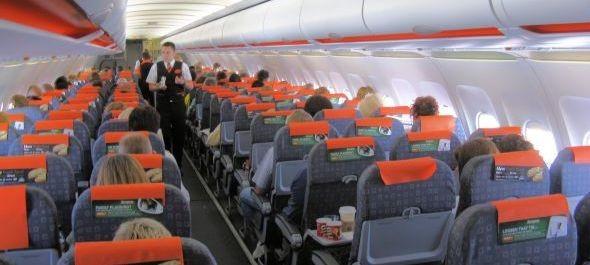 easyJet: a repülőgépeken a 7F ülés a favorit