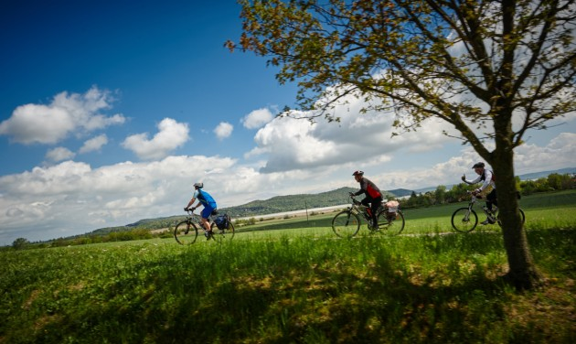 Balaton-felvidéki bringatúra a nemzeti ünnepen
