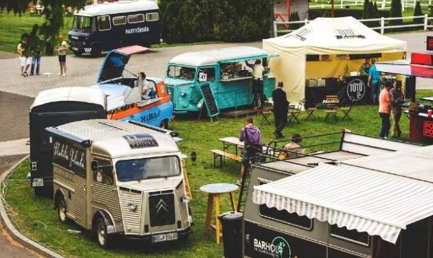 Ingyenes lesz a Food Truck Show a Kincsem Parkban