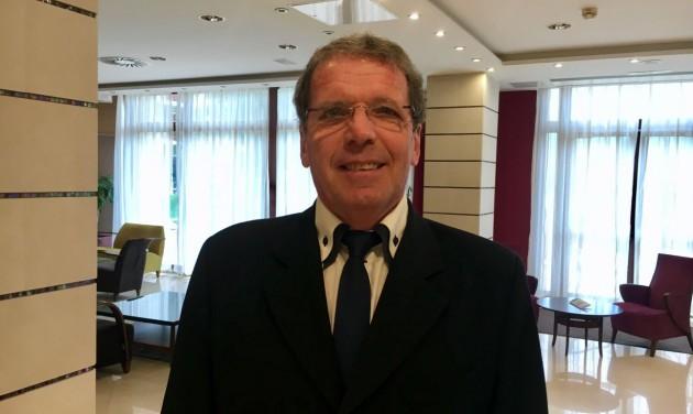 Fischer György a Greenfield Hotel Golf & Spa élén