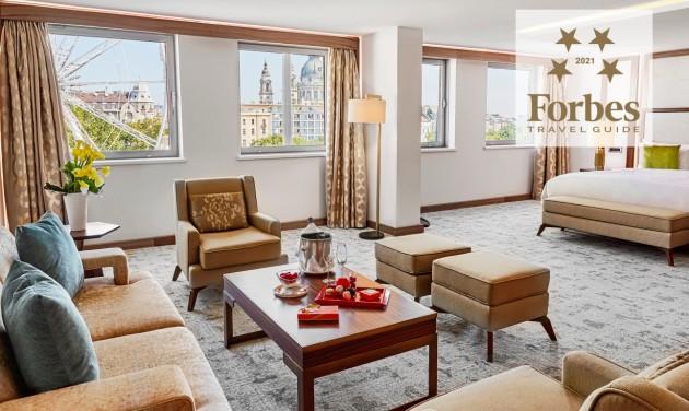 Hét budapesti hotel és egy spa a Forbes Travel Guide idei listáján