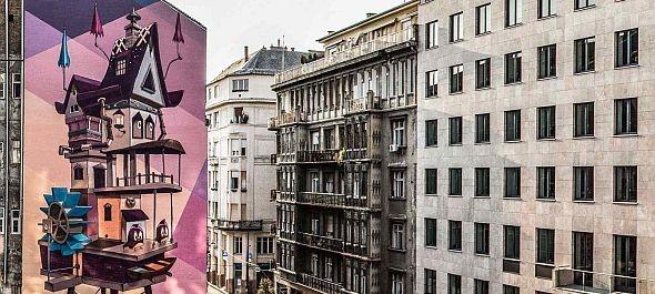 Az idei Színes Városon 1800 négyzetméternyi falfelület szépült meg