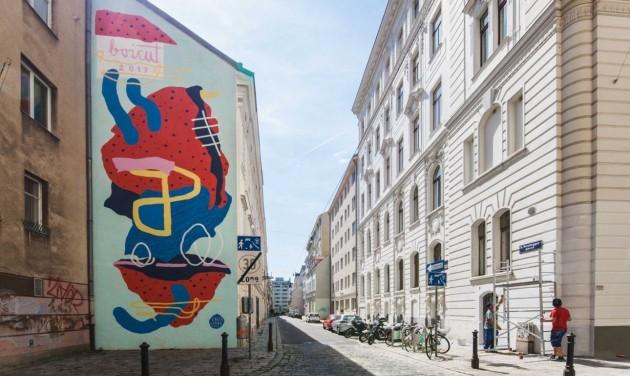 Graffitisek színezik ki Bécset