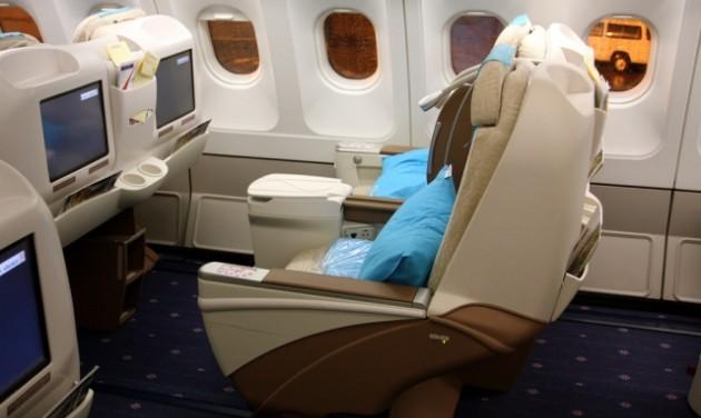 Több prémium utas a repülőkön