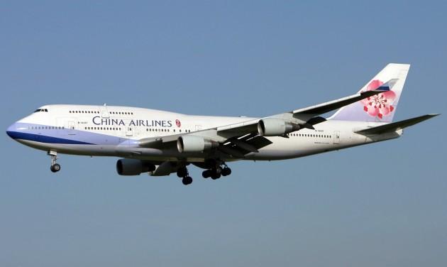 Koronavírus: átírhatók a jegyek a China Airlinesnál