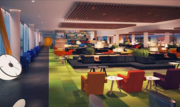 Új várót és fine dining éttermet nyitott a KLM Amszterdamban