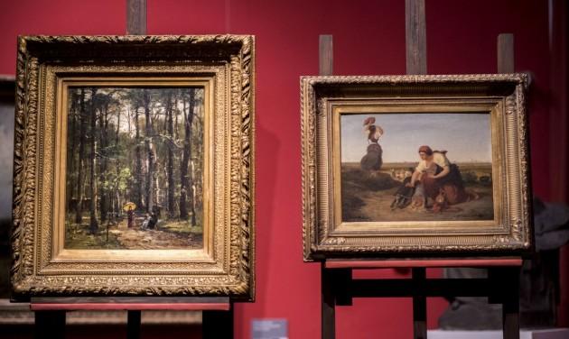 Két Munkácsy-festménnyel gazdagodott a pécsi kiállítás