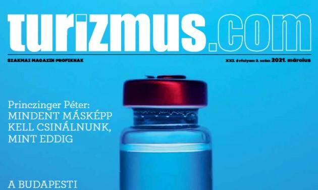 Letölthető a Turizmus.com Magazin márciusi száma