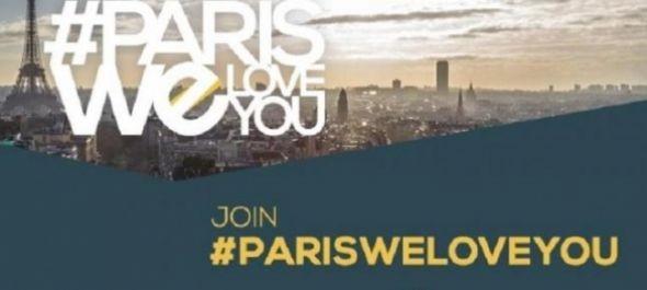 #ParisWeLoveYou kampány indul