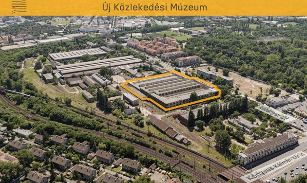 Kőbányán épülhet meg az új Közlekedési Múzeum
