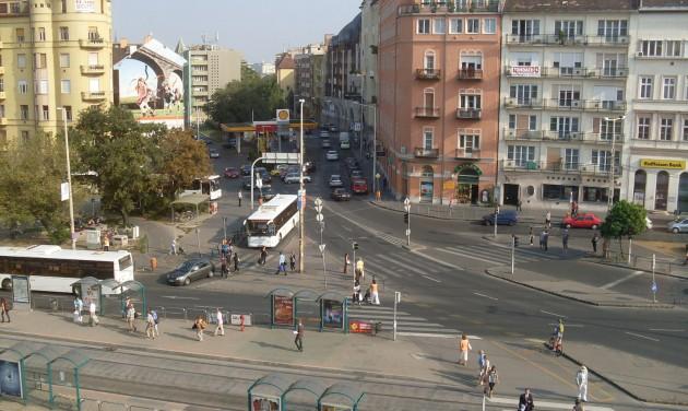 Megújul a fővárosi Széna tér