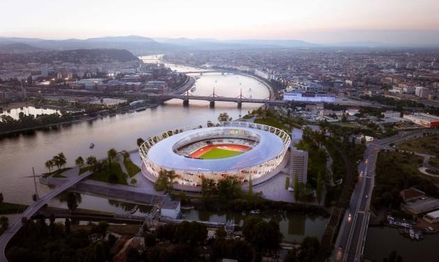 Két szakaszban készül el a vb-t fogadó Budapesti Atlétikai Stadion