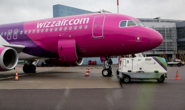 Betett a kerozinár a Wizz Airnek